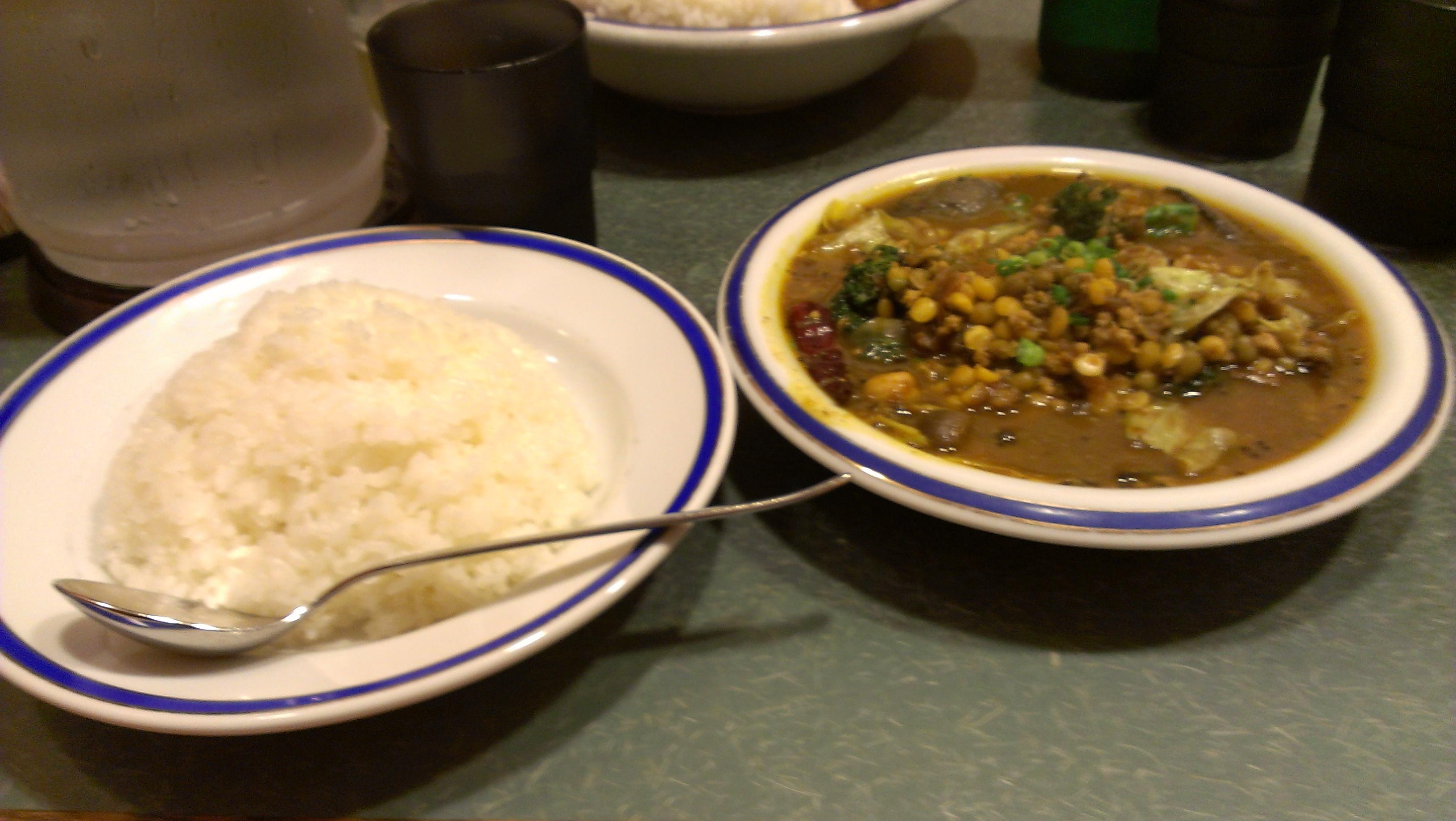 エチオピアのカレーはやっぱり美味かった