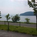 山中湖畔が涼しかった